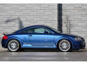 2004 audi tt blue 200 interior and exterior images