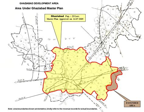ghaziabad in india map ghaziabad development area ghaziabad master plan