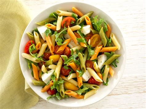 tri colored vegetable penne tri color pasta salad with olive