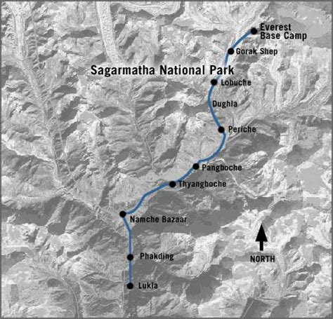 mount everest map map of cs on mount everest images