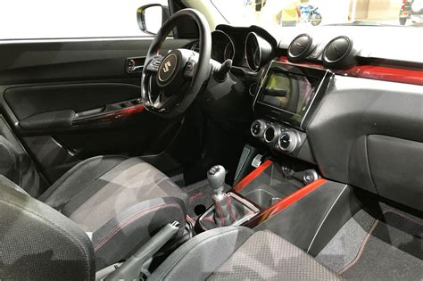 interieur swift sport new 2017 suzuki swift sport fresh pictures of angry new