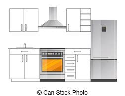 kitchen appliances template design brochure design