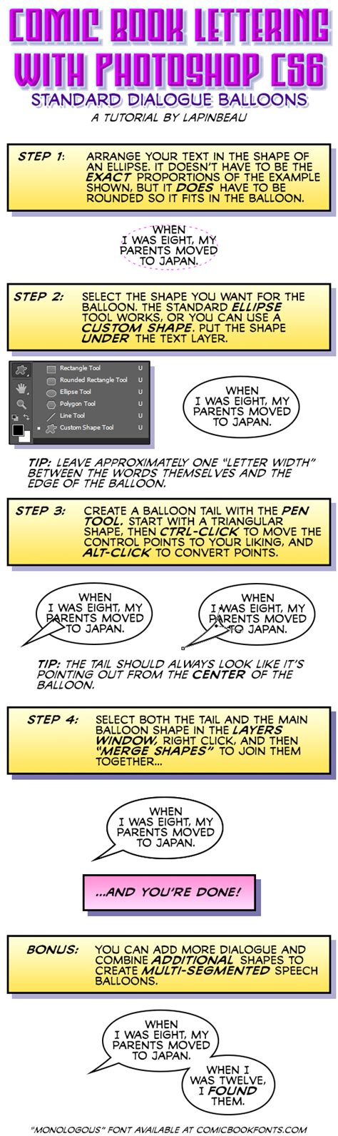 lettering comics tutorial photoshop cs6 comic book lettering tutorial by lapinbeau