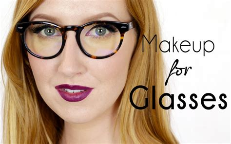 makeup tutorial for glasses how to wear makeup with glasses rtm rightthisminute