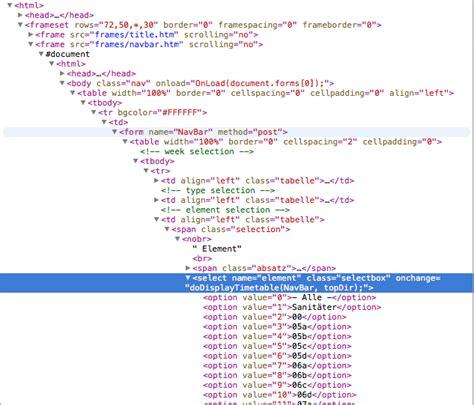 design website get html code ios get html code of website after selecting item in