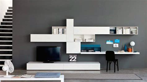 office desk with tv mount modern tv stand with desk wall unit small home office