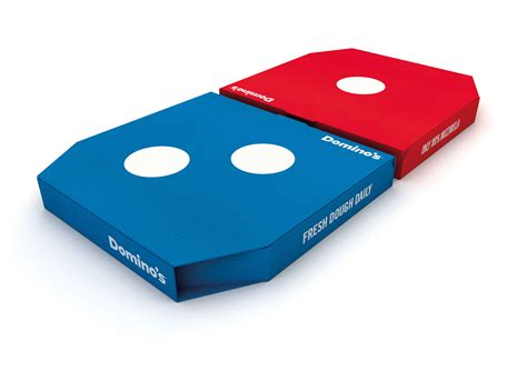 domino s jkr redesigns domino s packaging to highlight two pizza