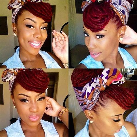 doit yourself hairstyles for locs 10 super beautiful ways to style dreadlocks brit co
