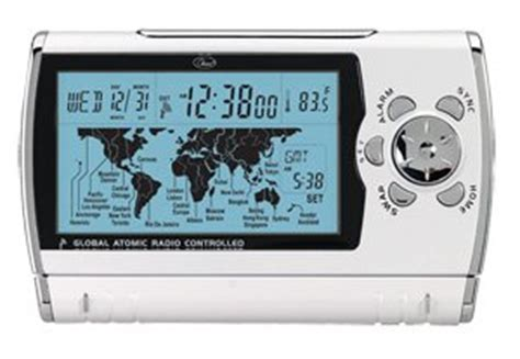 chass world sync time zone map alarm clock 00193 kitchen dining