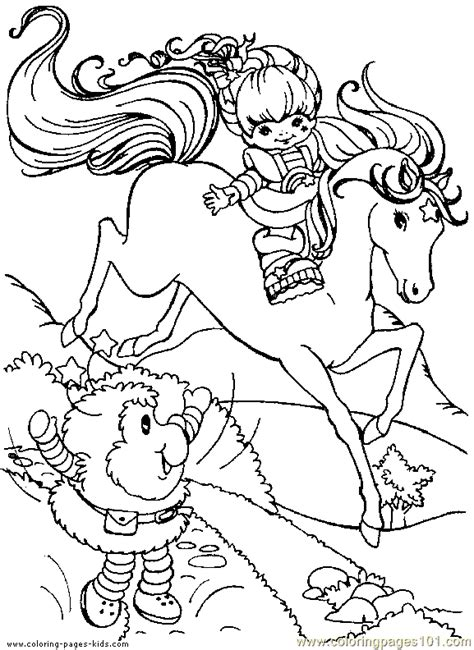 Rainbow Bright Coloring Pages Coloring Pages Rainbow Bright Coloring Page 08 Cartoons by Rainbow Bright Coloring Pages