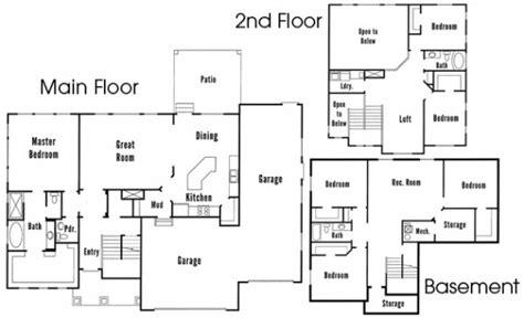 best of floor plans for dr horton homes new home plans