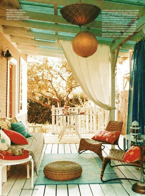 bohemian style decorating ideas 20 awesome bohemian porch d 233 cor ideas digsdigs