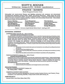 Resume Career Objective Banking One Of Recommended Banking Resume Exles To Learn