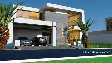 front elevation beautiful modern style house design home home design d front elevation beautiful contemporary