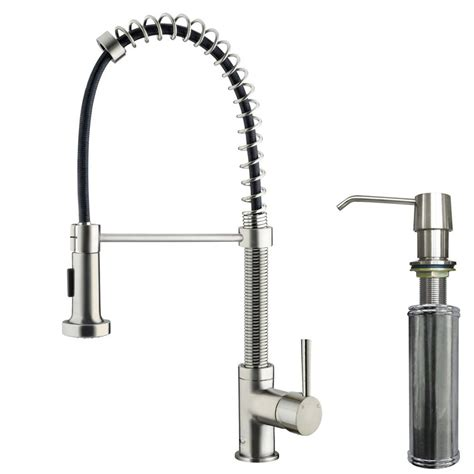 Vigo Single Handle Pull Out Sprayer Kitchen Faucet With | vigo single handle pull out sprayer kitchen faucet with