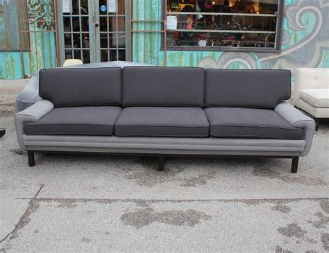 two tone couch interesting two tone sofa at 1stdibs