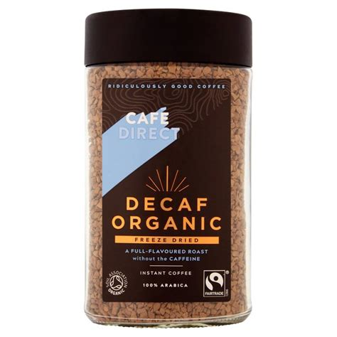Cafedirect Special Instant Fairtrade On The Go by Cafedirect Fairtrade Organic Decaffeinated Instant Coffee
