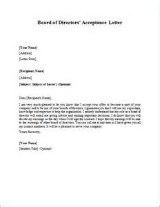 Appointment Letter Editorial Board letter of recommendation for appointment to board cover letter