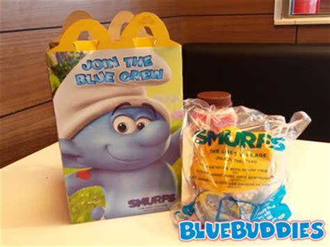 Mcdonalds Happy Meal Smurfs Tlv Blue House 2017 mcdonalds happy meal smurf toys lost