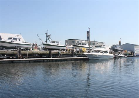 boat repair upland seattle uncovered dry storage boats waypoint marine group