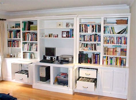 Bespoke Fitted Home Office Furniture Shelving Solutions Home Office Shelving