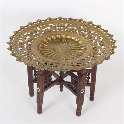 Moroccan Table L by Moroccan Tray Or Coffee Table For Sale At 1stdibs