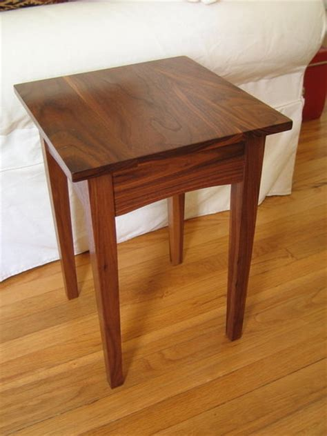 walnut end table walnut end table by jwicks lumberjocks com