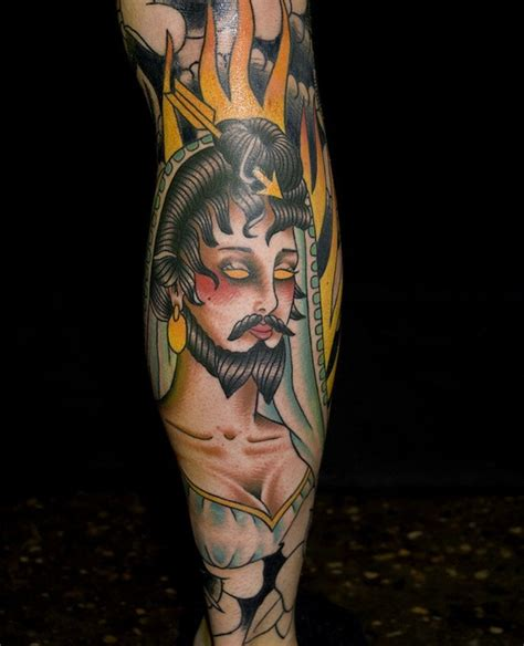 bearded lady tattoo best 25 ideas on traditional