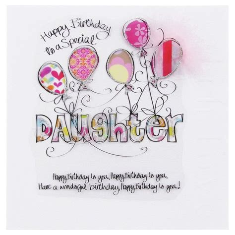 printable happy birthday cards for my daughter happy birthday cards for daughter wendy jones blackett