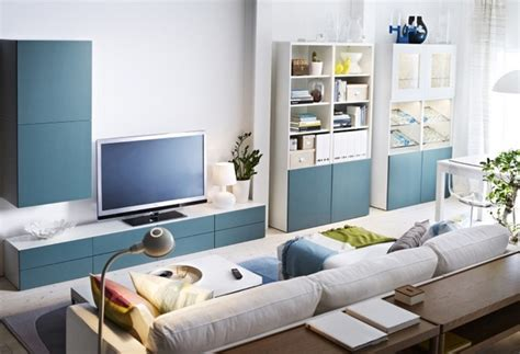 Living Room Storage Tv Solutions by Besta Shelf Ideas With The Storage System One Decor