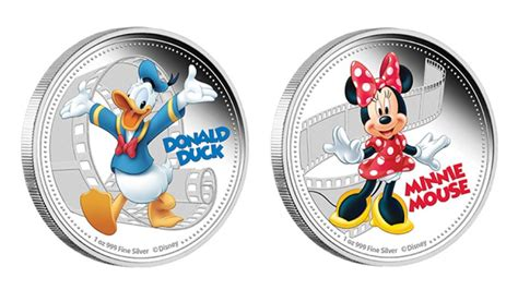 The Duck Says Coin Coin by Donald Duck And Minnie Mouse Coins From Niue Abc News
