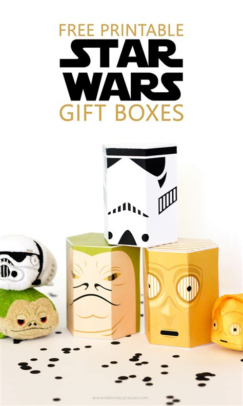 best wars gifts free wars printable gift boxes printable crush