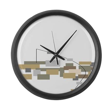 minimalist wall clock modern minimalist large wall clock by gailgabel