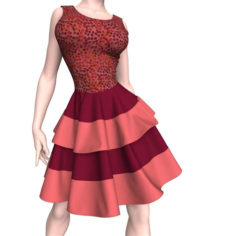 tutorial design dress marvelous designer dress tutorial in 3d world issue 205