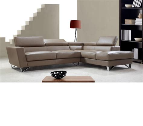 dreamfurniture waltz beige leather sectional sofa