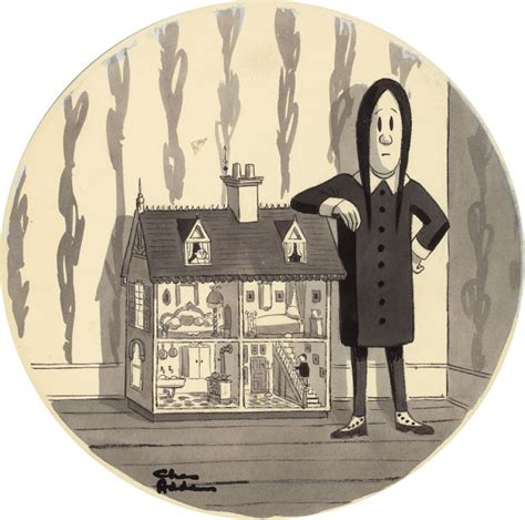 attempted bloggery wednesday addams promoting decorators walk