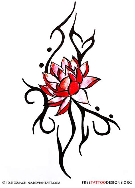 japanese tribal tattoo designs 90 lotus flower tattoos