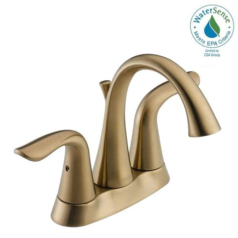 Www Faucets by Brass Bathroom Faucets Bath The Home Depot Realie