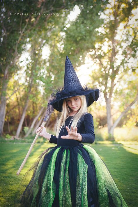 Handmade Witch Costume - diy glinda and witch of the west costumes