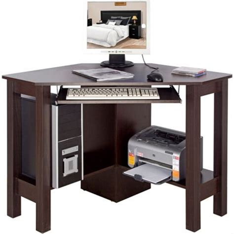 Walnut Corner Computer Desk Buy Horner Corner Office Desk Computer Workstation Walnut From Our Office Desks Tables