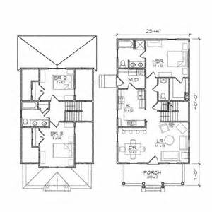 2 Story Bungalow Floor Plans by Architecture Clever Bungalow Floor Plan Two Story House