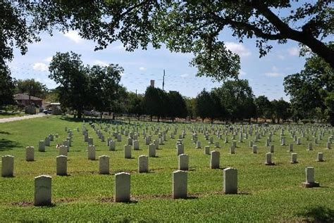 texas state cemetery map texas state cemetery texas