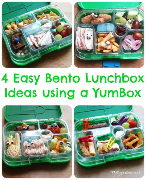To Market Recap Lunchbox by Yumbox Lunchbox Theboyandme
