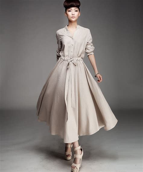 d127 color 2015 new high quality s custom made linen maxi dress dress in