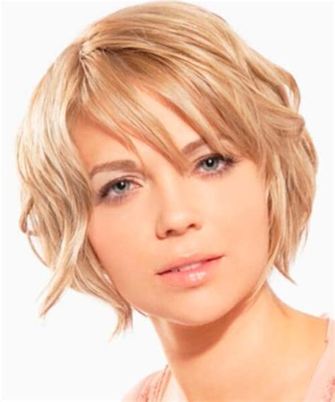 suitable hairstyle for oval face shape short haircut for thick hair and oval face hairsstyles co