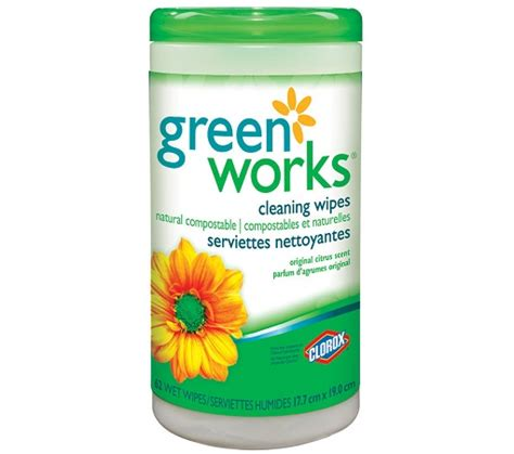 nexday supply  clorox green works biodegradable natural cleaning wipes