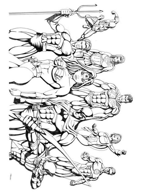 printable coloring pages justice league justice league printables coloring pages