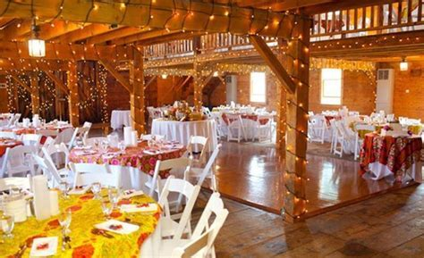 Romantic Decorating A Barn For A Wedding Reception