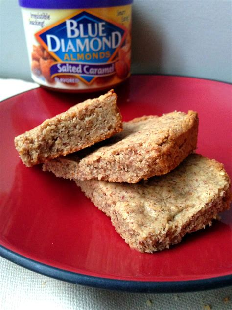 Healthy Corner Blue Whole Almond Butte 1kg 3 ingredient salted caramel blondies sinful nutrition