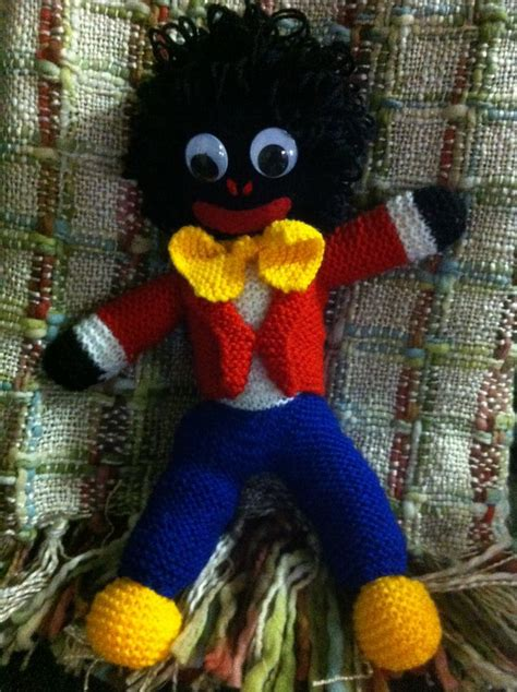 pattern for fabric golliwog i have a beautiful large knitted golliwog that a blind